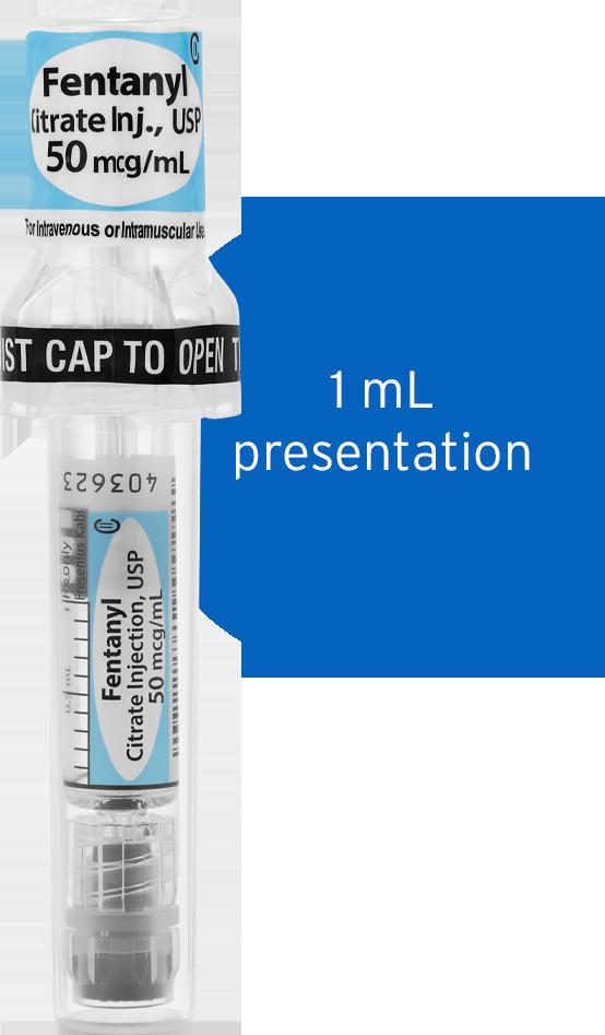 Fentanyl Citrate Injection, USP, Fresenius Kabi USA
