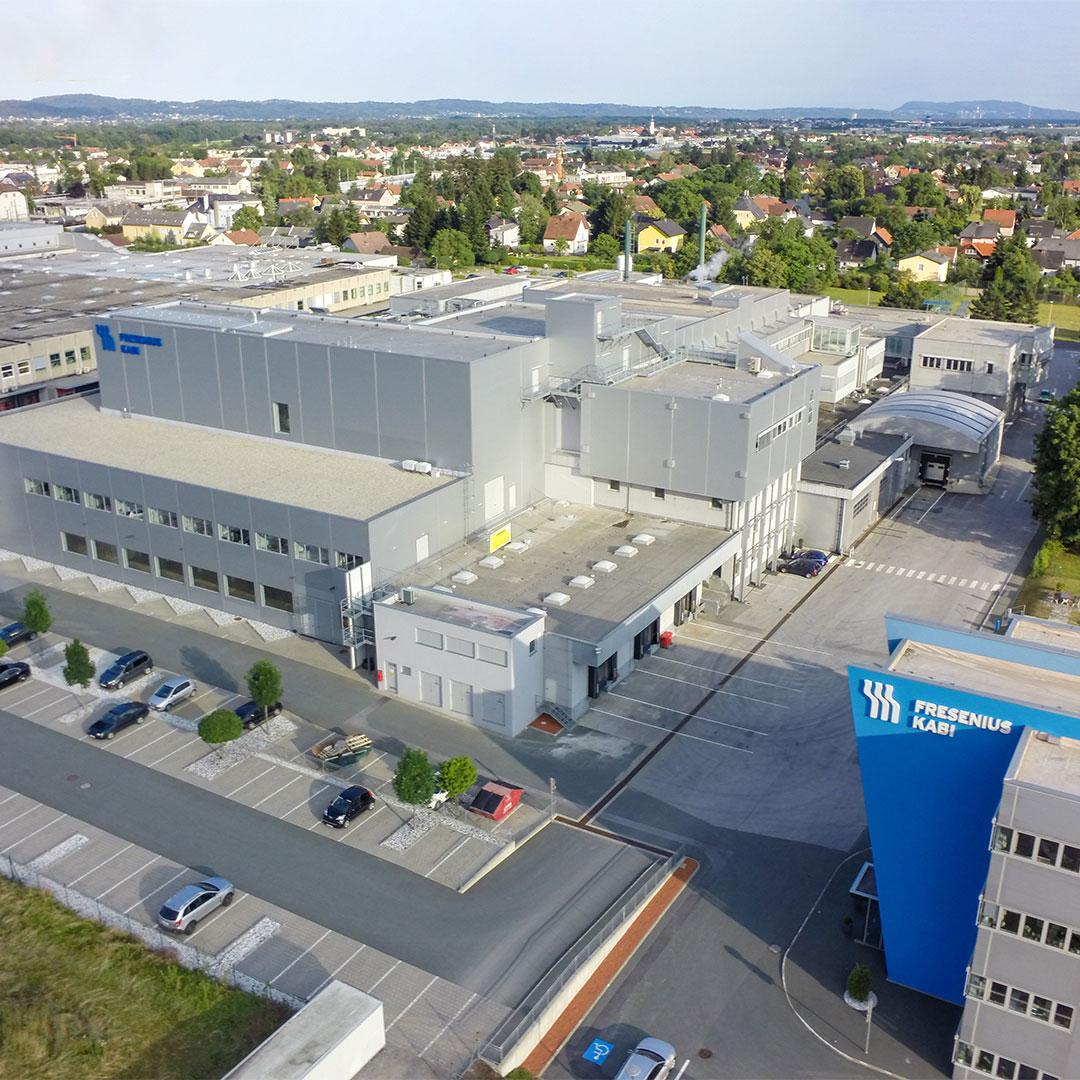 Fresenius Kabi Graz Austria Manufacturing Facility